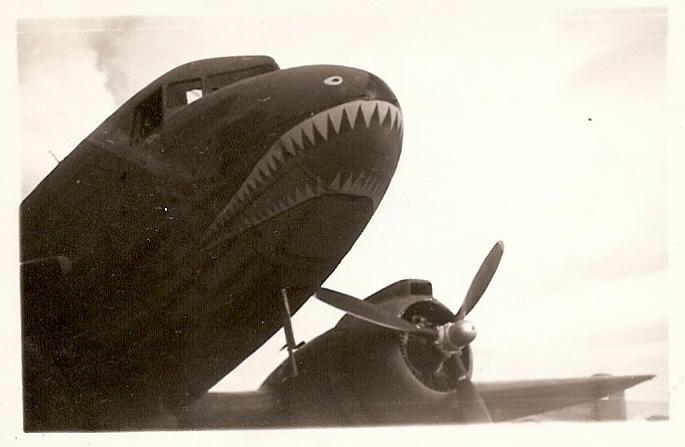 THE FLYING TIGERS BOMB HANOI  1942 0ad61af22f9