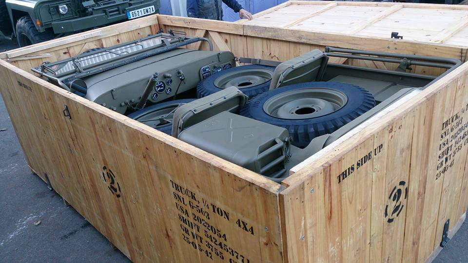 JEEP IN A BOX, JEEP IN A CRATE