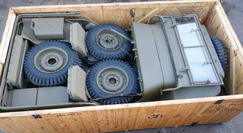 Jeep In A Crate Price