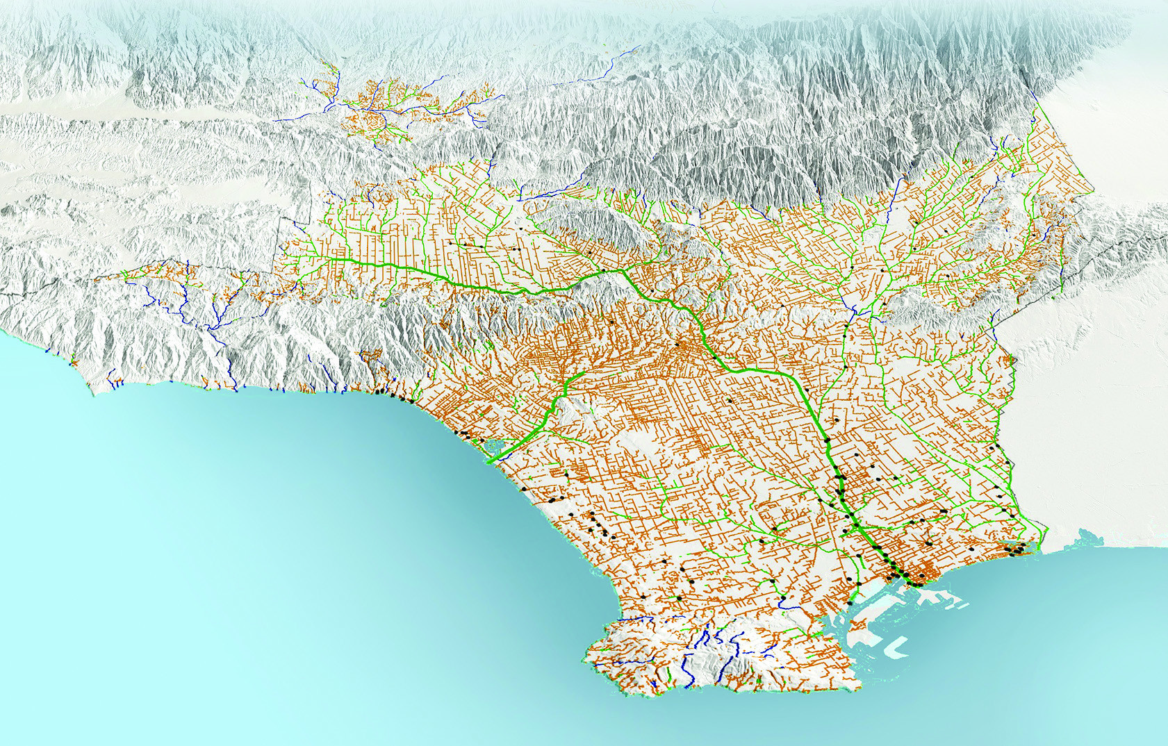 Los Angeles Groundwater USGS CA Water Science Center Los Angeles - Los angeles in world map