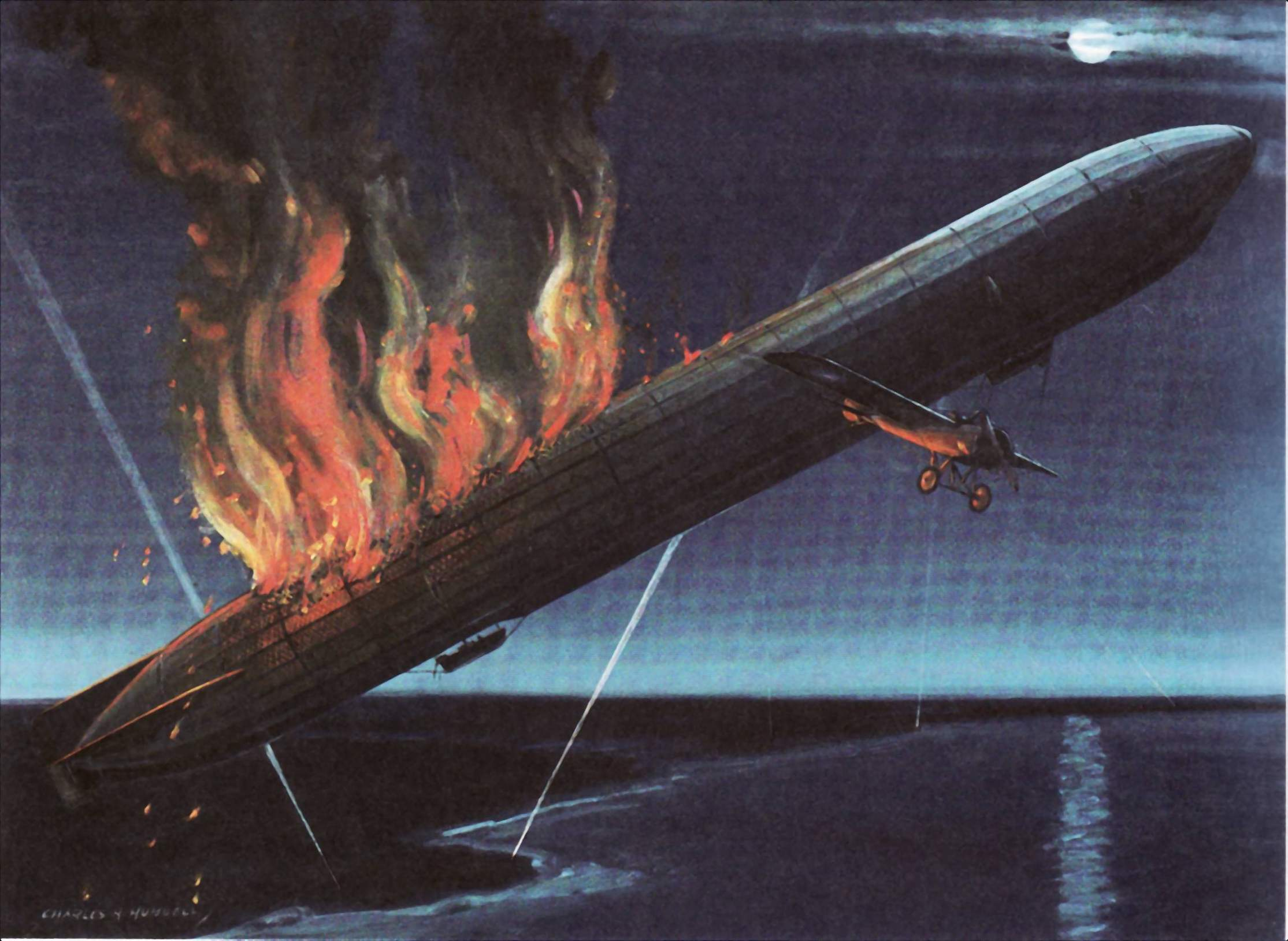 ZEPPELINS: HIGH ALTITUDE WARSHIPS. The Height Climbers